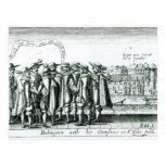 Babington con su Complices en St Giles Tarjetas Postales