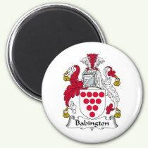 Babington Family Crest Magnet
