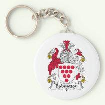 Babington Family Crest Keychain