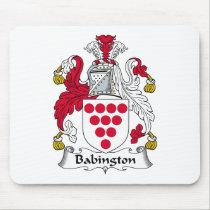 Babington Family Crest Mousepad