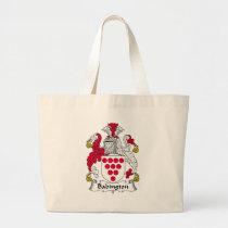 Babington Family Crest Bag