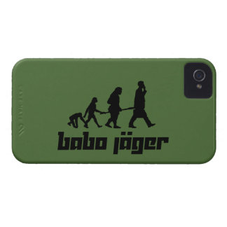 Babo Jäger iPhone 4 Case-Mate Coberturas