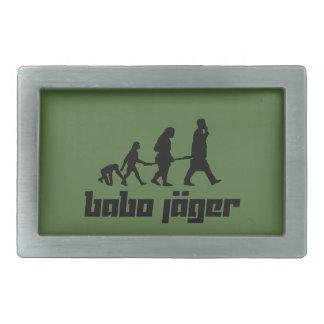 Babo Jäger Rectangular Belt Buckle
