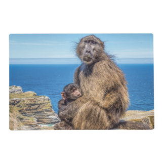 Baboon & Baby Placemats