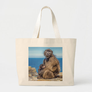 Baboon & Baby Tote