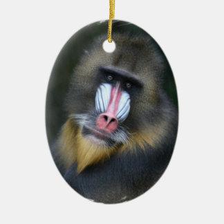 Baboon Face Ornament