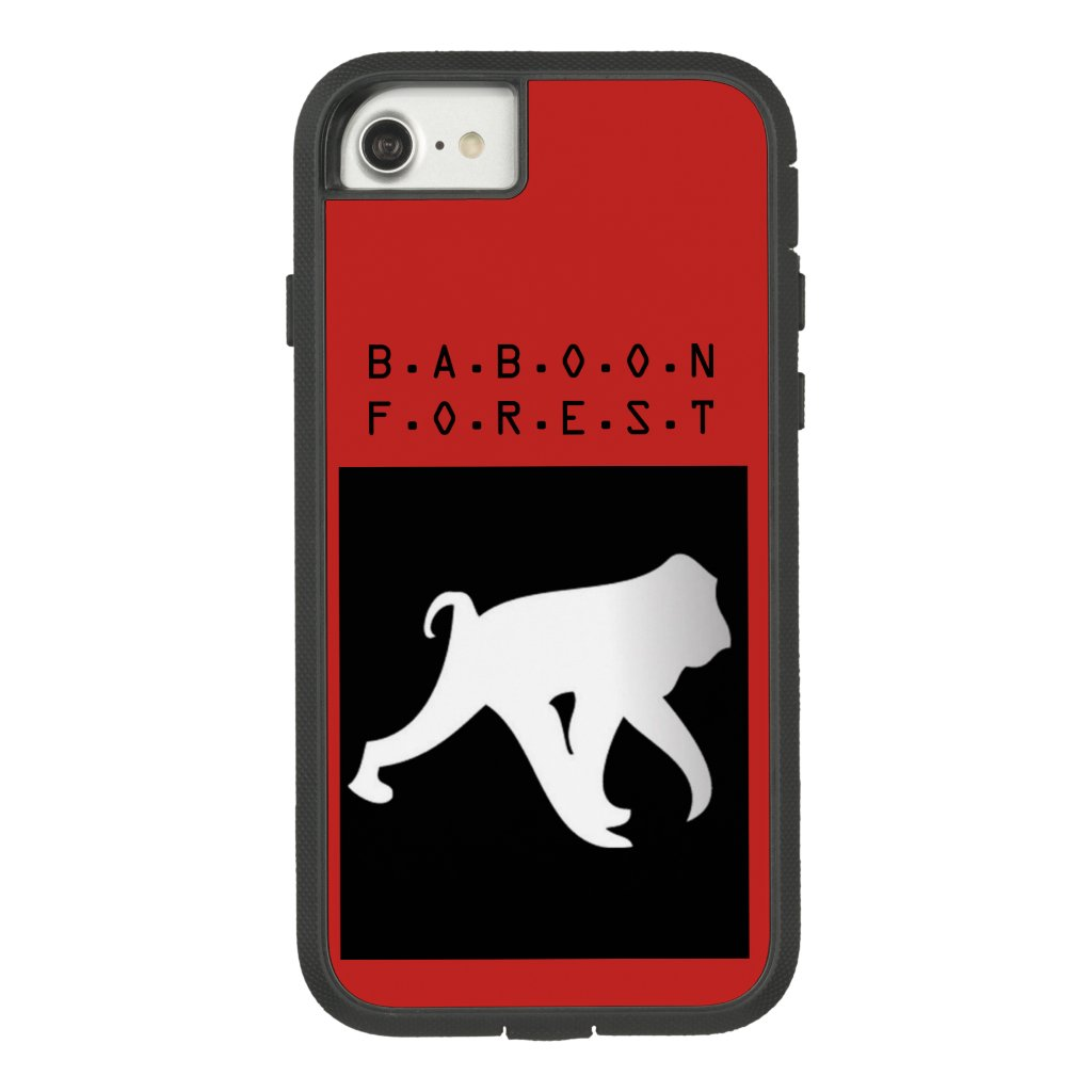 Baboon Forest phone cover