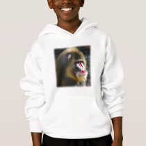 Baboon Hooded Sweatshirt