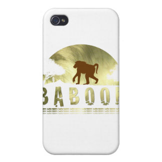 BABOON iPhone 4 COVERS