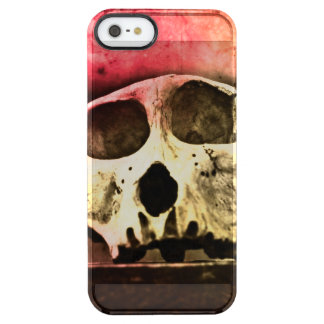 Baboon Skull Sunset Clear iPhone 5 case