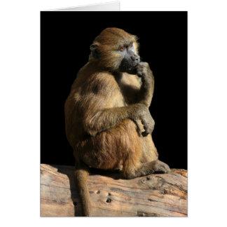 Baboon WC Card