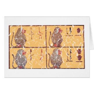 baboons card