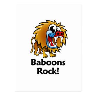 Baboons Rock! Postcard