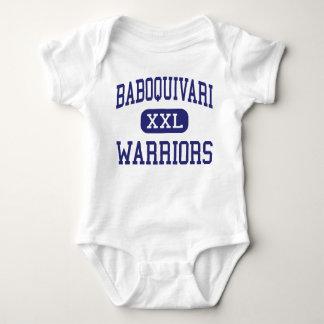 Baboquivari - Warriors - Middle - Sells Arizona Baby Bodysuit