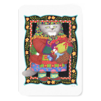 "Baboushka Kitty 3.5"" x 5"" Invitation/Flat Card"