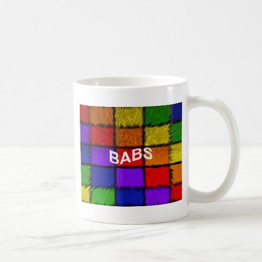 BABS ( female names ) Classic White Coffee Mug