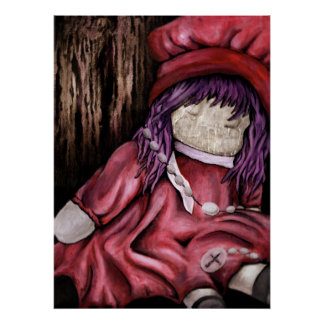 babtized. muñeca. pintura de aceite posters