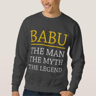Babu el hombre el mito la leyenda sudaderas encapuchadas