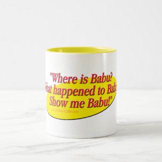 Babu!... Two-Tone Coffee Mug