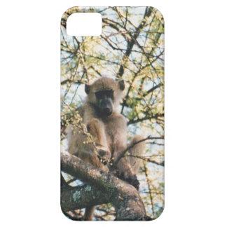 babuino de la imagen del caso del iphone iPhone 5 Case-Mate protector