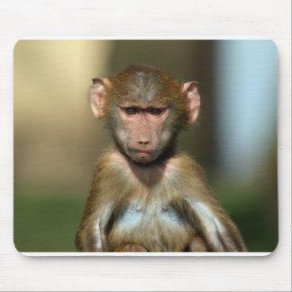Babuino lindo Mousemat/Mousepad del bebé Tapetes De Raton