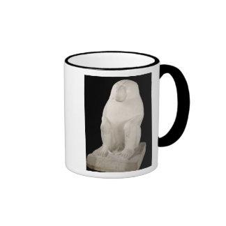 Babuino, reino medio, posiblemente 7ma dinastía taza de café