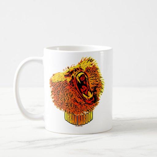 Babuino urbano tazas de café