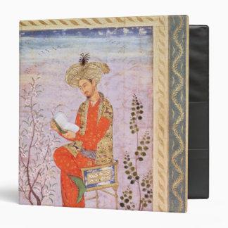 Babur  Reading, Mughal Binder