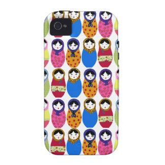 Babushka Doll iPhone 4 Covers