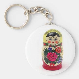 babushka keychain