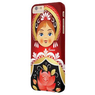 Babushka Matryoshka Russian Doll Barely There iPhone 6 Plus Case