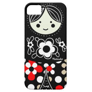 Babushka Matryoshka  Russian Doll iPhone 5 Case