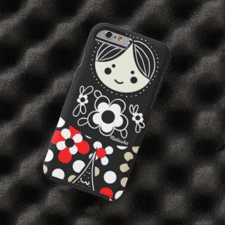 Babushka Matryoshka  Russian Doll Tough iPhone 6 Case