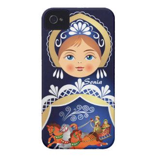 Babushka Matryoshka  Russian Doll Case-Mate iPhone 4 Cases