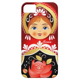 Babushka Matryoshka  Russian Doll iPhone 5 Covers