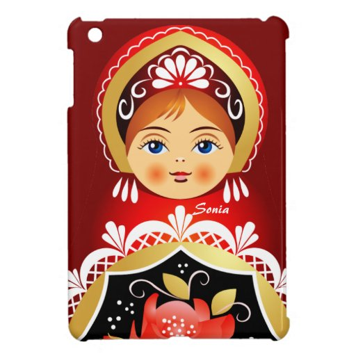 Babushka Matryoshka Russian Doll iPad Mini Case
