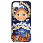 Babushka Matryoshka  Russian Doll iPhone 5 Cover