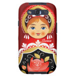 Babushka Matryoshka Russian Doll Samsung Case Samsung Galaxy S3 Cover