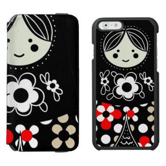 Babushka Matryoshka  Russian Doll Incipio Watson™ iPhone 6 Wallet Case