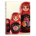 Babushka Russian Doll Notebook