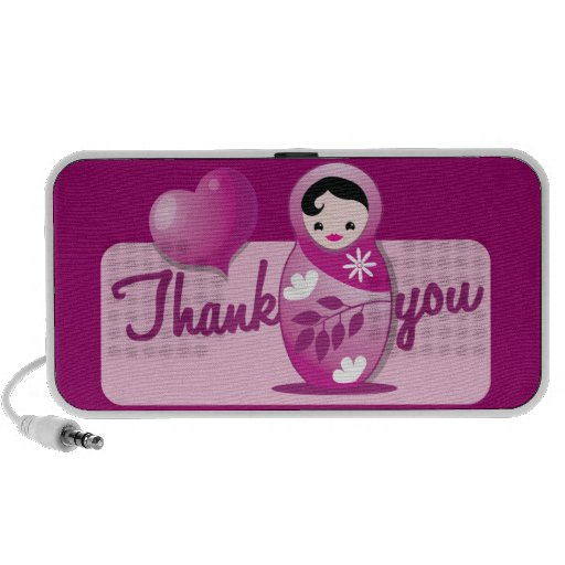 Babushka thank you speakers