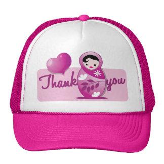 babushka thank you trucker hat