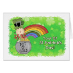Baby 1st St. Patricks Day Greeting Card