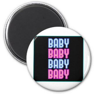 ** Baby ** 2 Inch Round Magnet