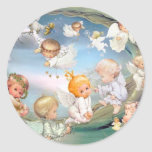 baby 2.jpg classic round sticker