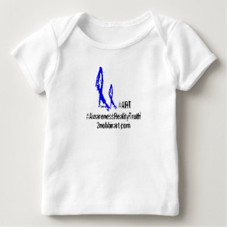 Baby 2NOBBIR #ART American Apparel Lap Infant T-shirt