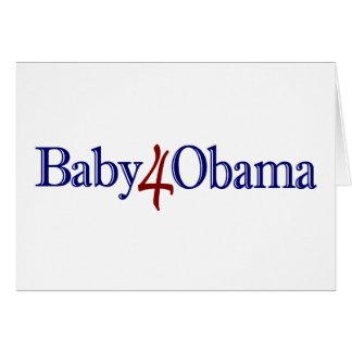 Baby 4 Obama Card