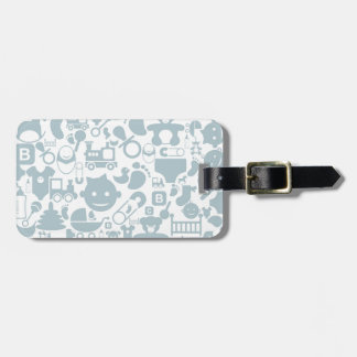 Baby a background2 luggage tag
