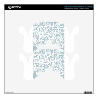 Baby a background2 PS3 controller decal