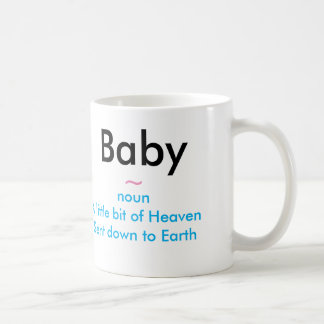 Baby a Gift from God White 11 oz Classic White Mug